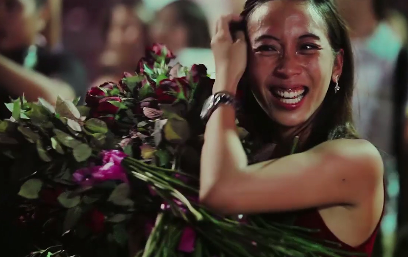 cutest marriage proposal reaction in the phillipines
