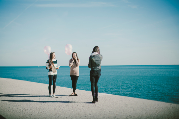 proposal ideas with friends and family