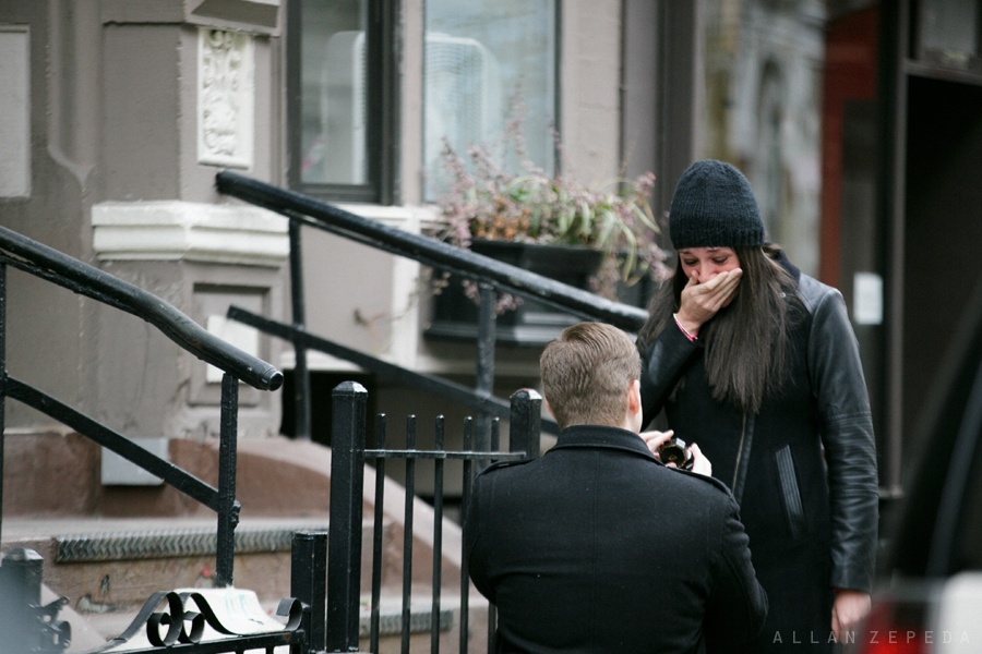 Image 9 of Rachel and Patrick's Proposal in New York City