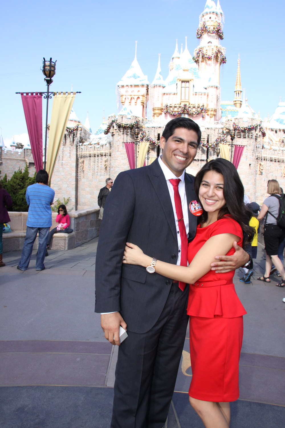 Image 1 of Nathan and Stacey's Disney Proposal