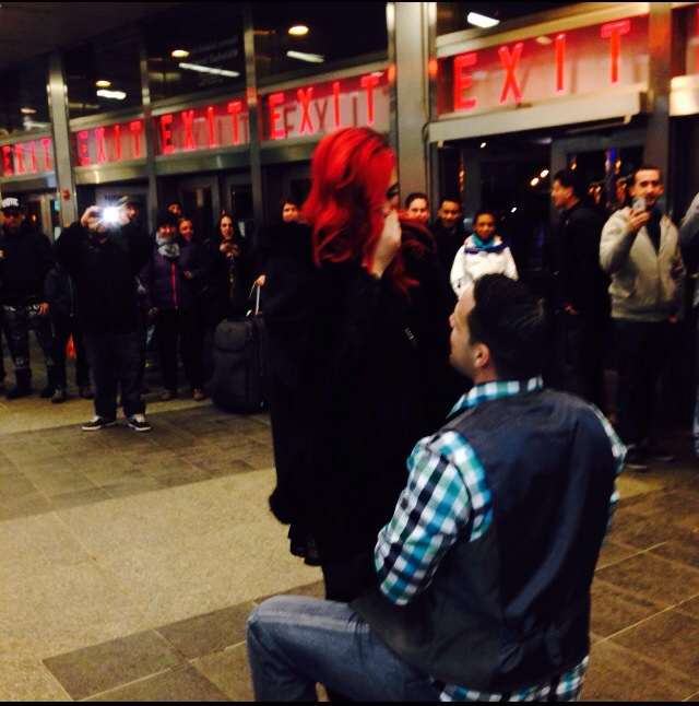 Image 2 of ToniAnn and William | Staten Island Ferry Proposal