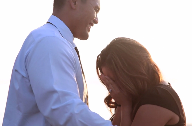 Image 4 of Proposal While Shooting her Sister's Wedding Video