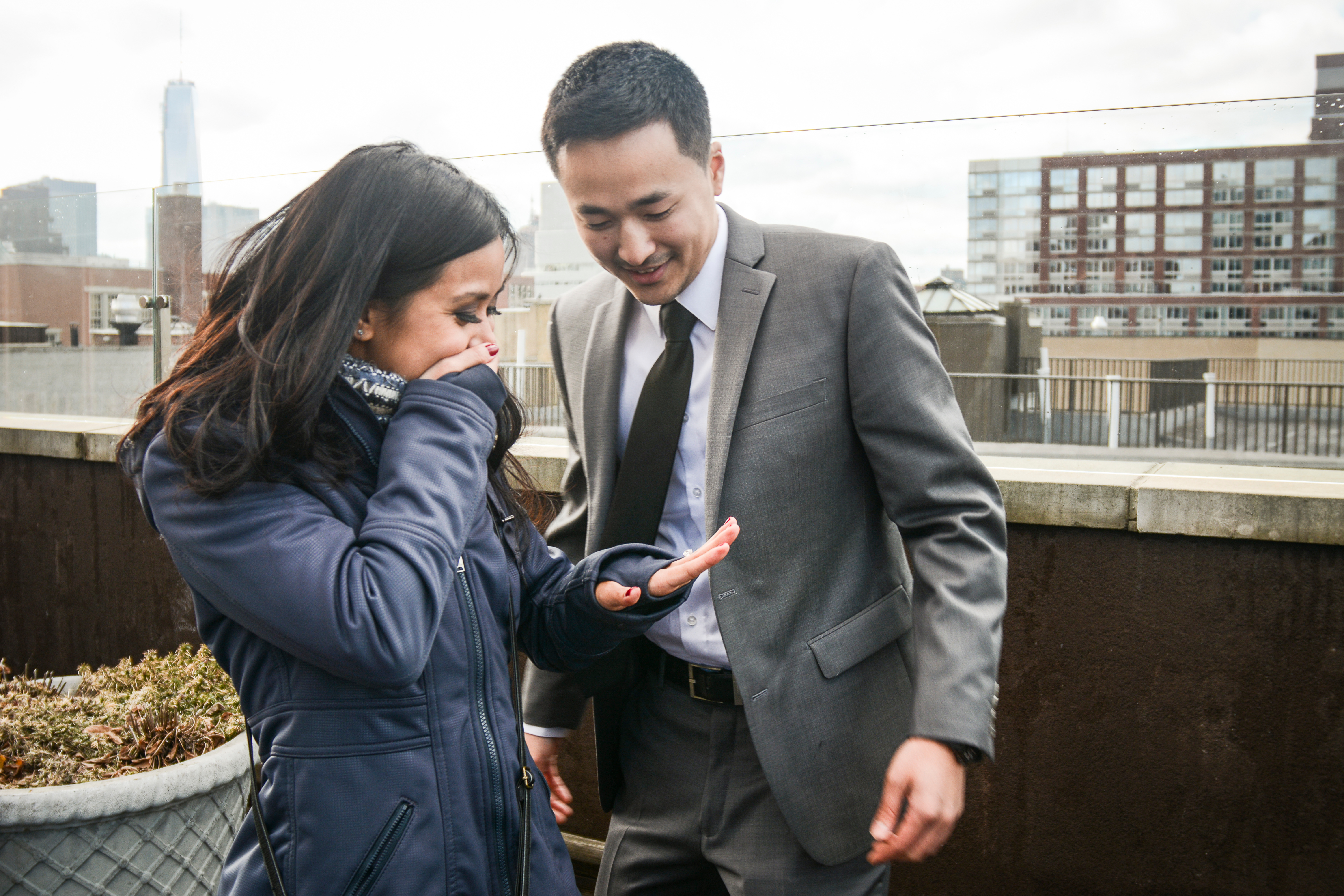 Image 5 of Jacqueline + James: Manhattan Marriage Proposal
