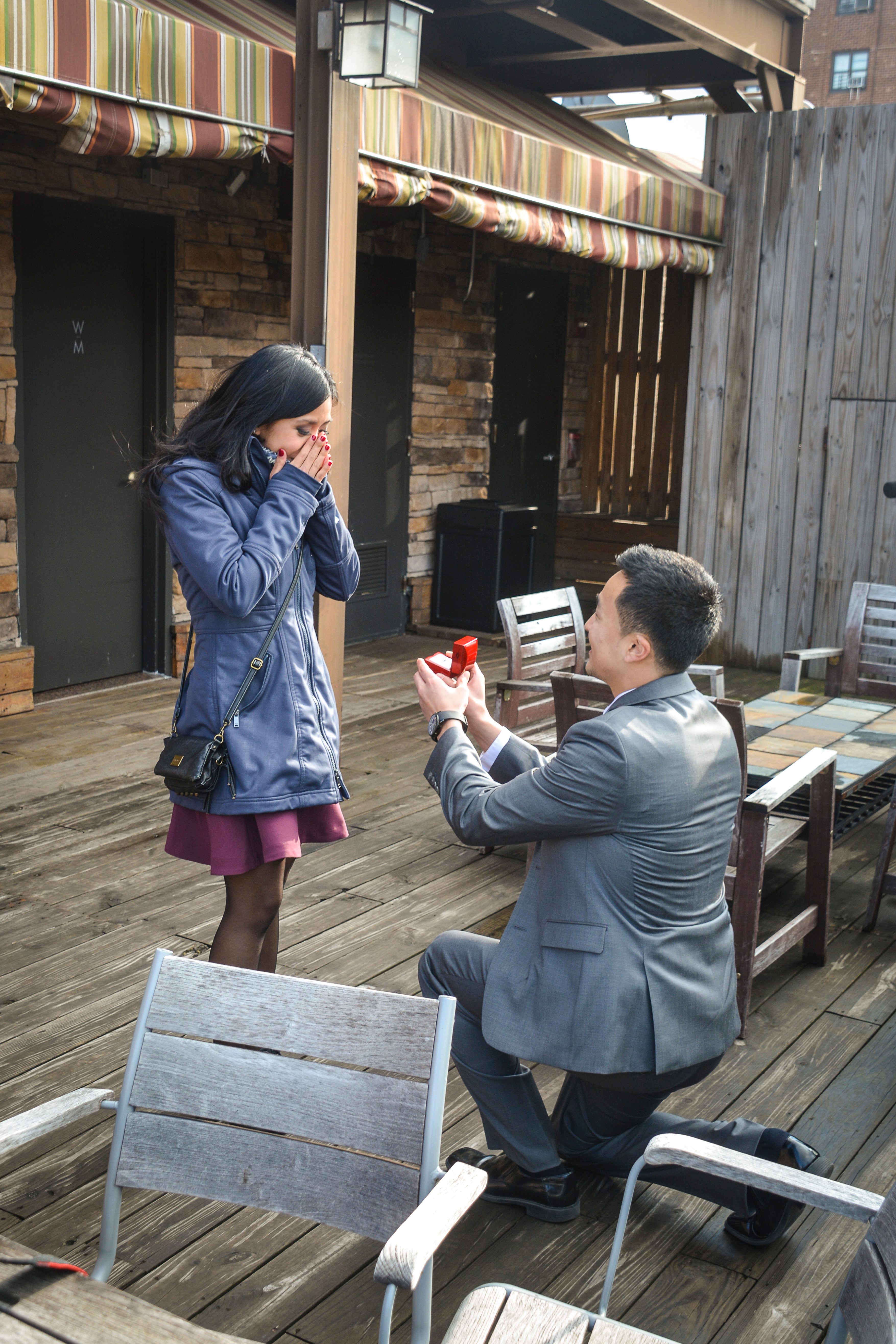 Image 3 of Jacqueline + James: Manhattan Marriage Proposal