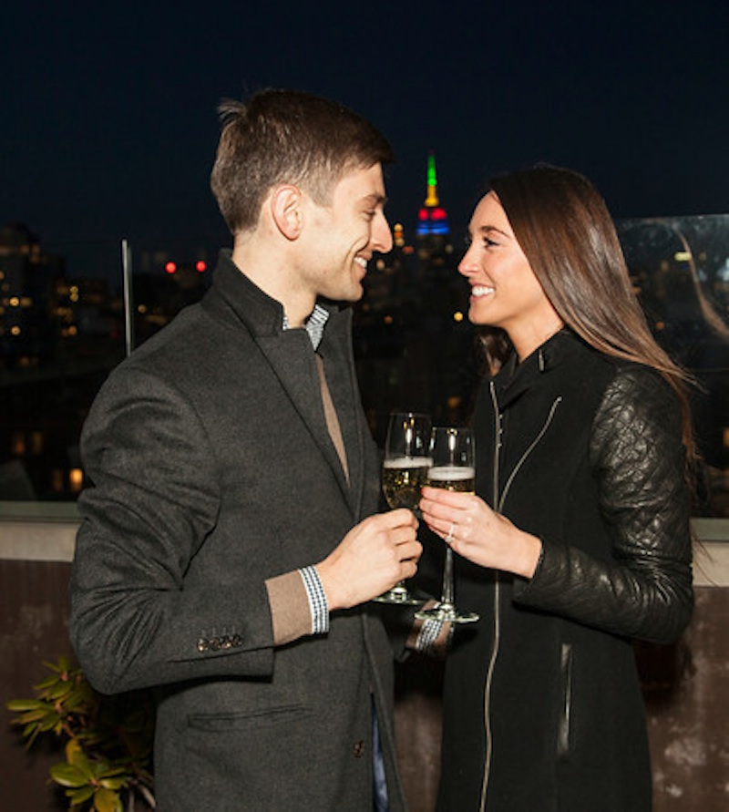 Image 5 of James + Alexa: Rooftop Proposal in New York City