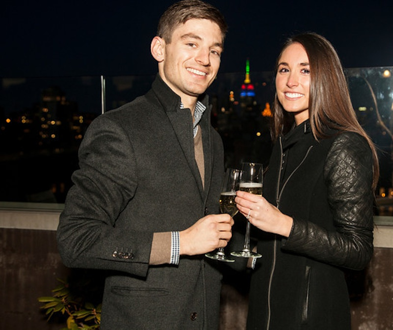 Image 2 of James + Alexa: Rooftop Proposal in New York City