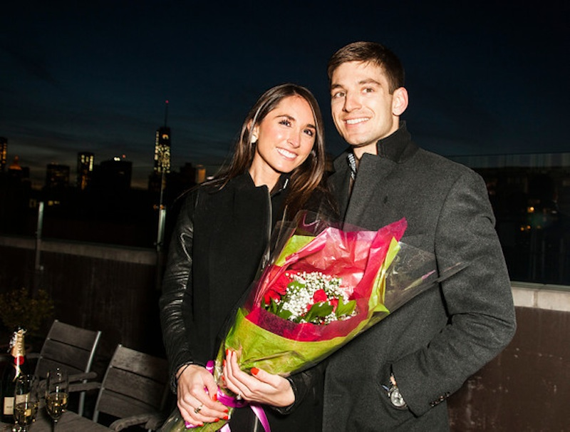 Image 6 of James + Alexa: Rooftop Proposal in New York City