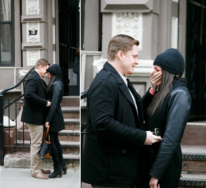 Image 1 of Rachel and Patrick's Proposal in New York City