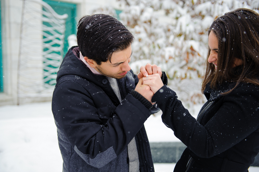 Image 9 of Jenna and Giovanni | Shedd Aquarium Proposal in Chicago