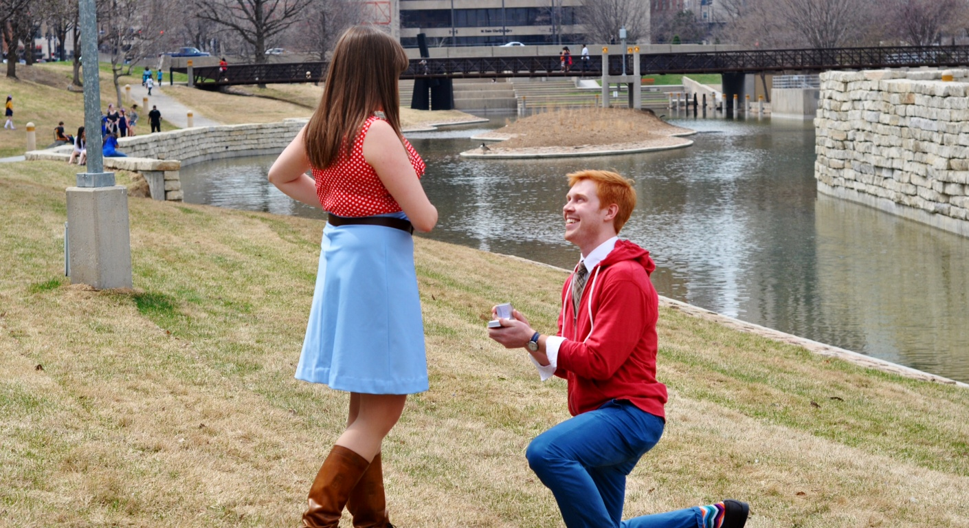 Image 3 of Molly and Jerod | Omaha Marriage Proposal