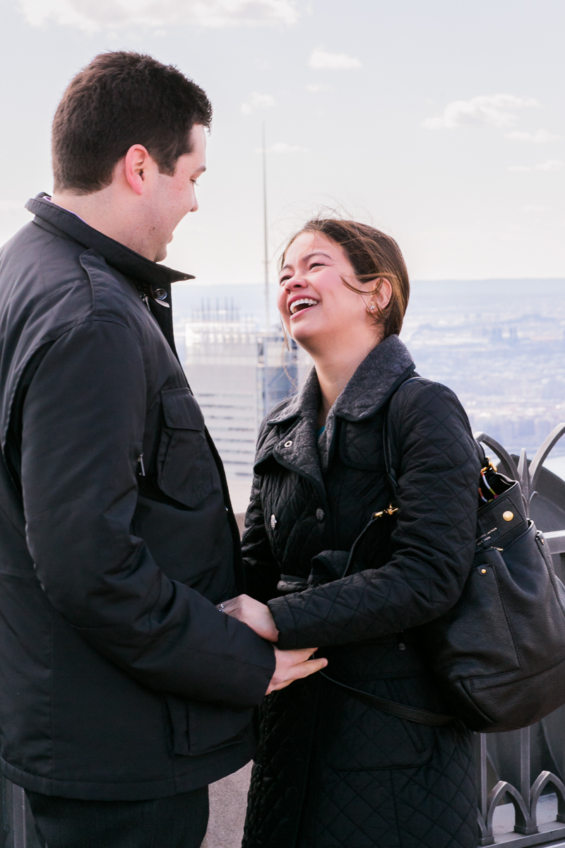 Image 8 of Top of the Rock Marriage Proposal