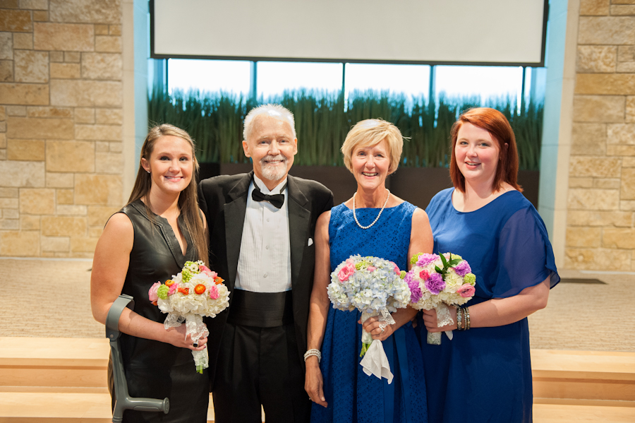 Image 15 of Dying Dad Walks Unmarried Daughters Down the Aisle