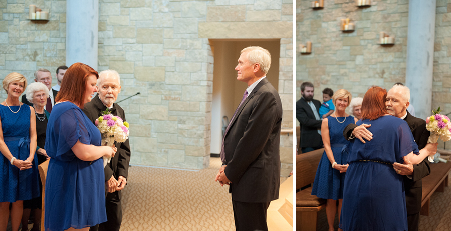 Image 7 of Dying Dad Walks Unmarried Daughters Down the Aisle