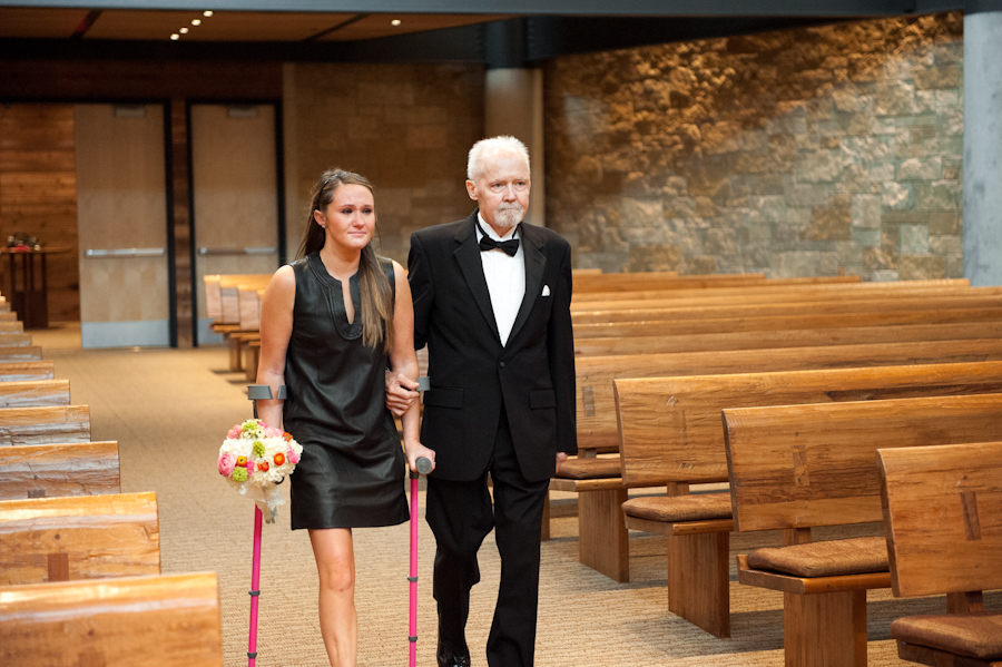 Image 10 of Dying Dad Walks Unmarried Daughters Down the Aisle