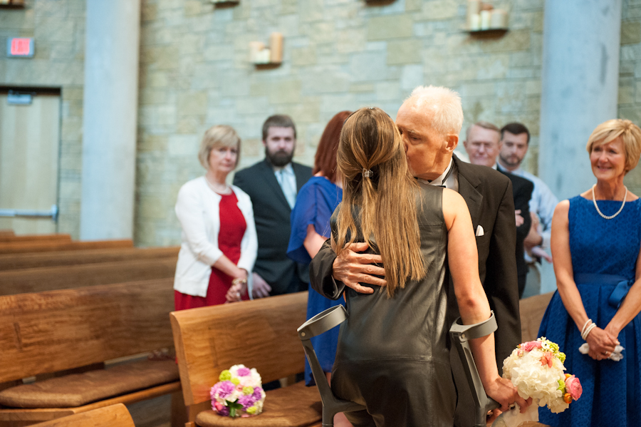 dad dying of cancer walks down aisle 6
