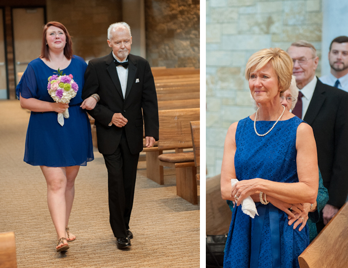 Image 6 of Dying Dad Walks Unmarried Daughters Down the Aisle