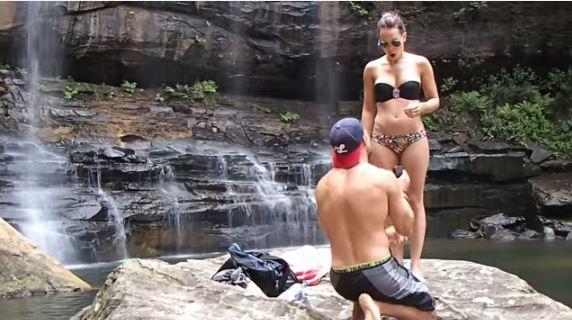 Image 2 of Nathan and Grace   Australian Waterfall Proposal