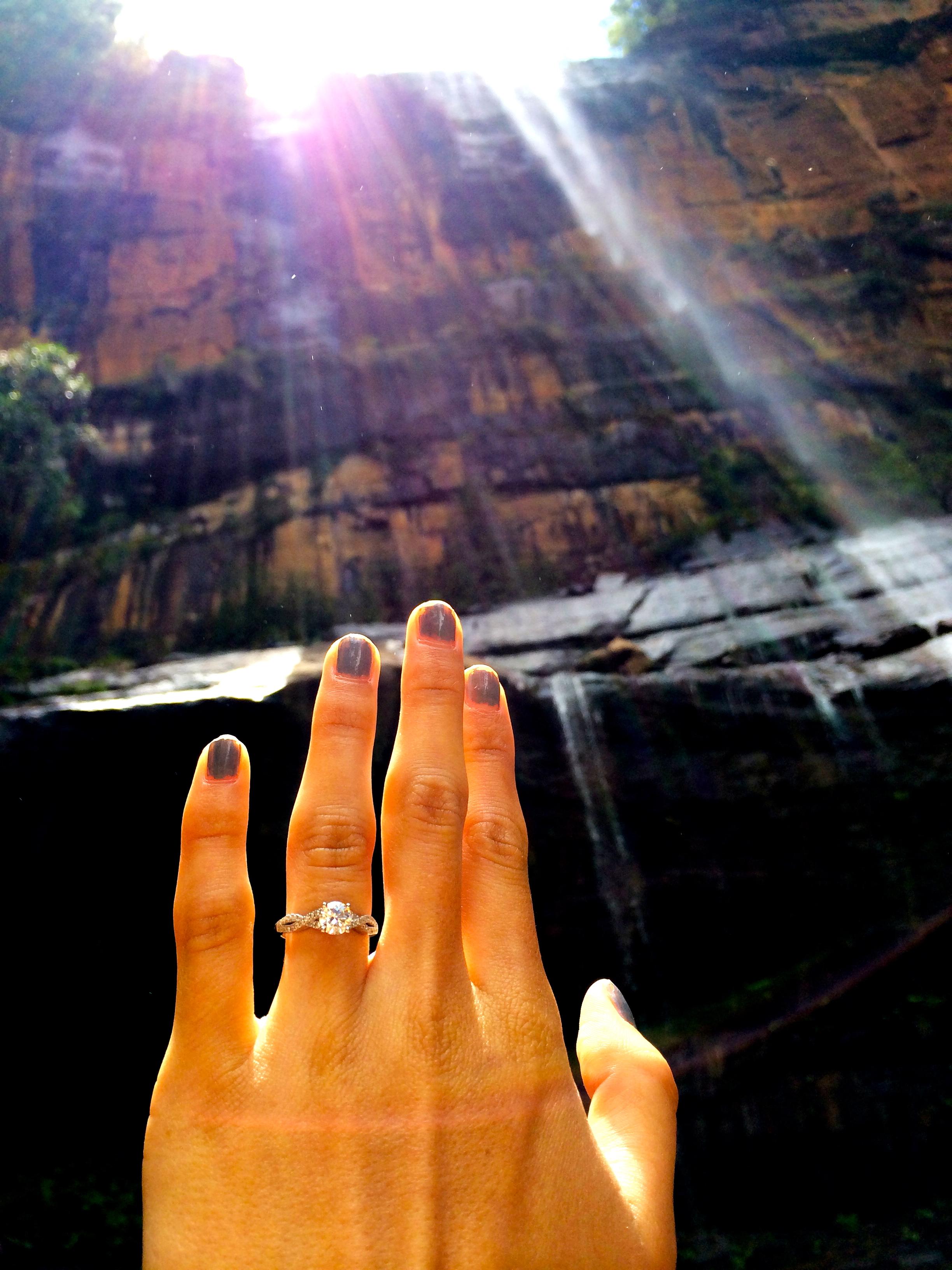 Image 3 of Nathan and Grace   Australian Waterfall Proposal
