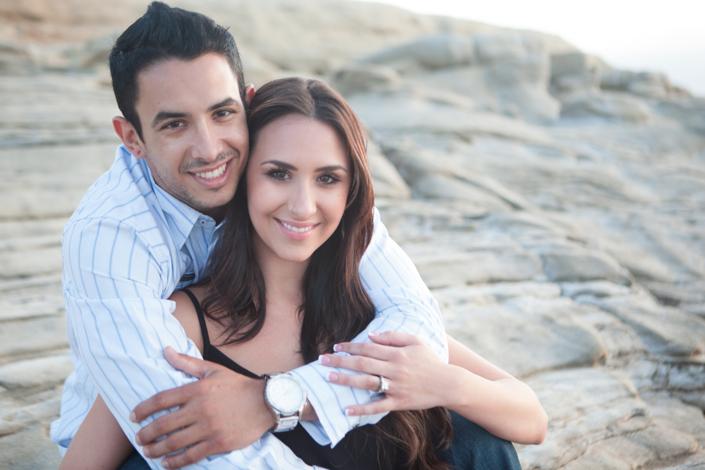 Image 1 of La Jolla Cliffs Proposal | Kaytie and Asafe