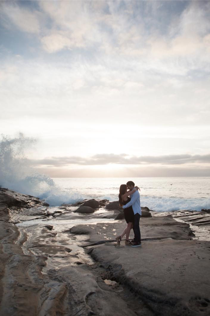 Image 4 of La Jolla Cliffs Proposal | Kaytie and Asafe