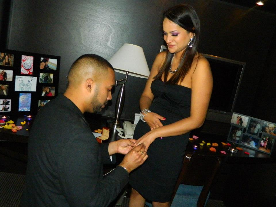 Image 12 of Kim + Andre's Proposal: When He Cries, You'll Cry