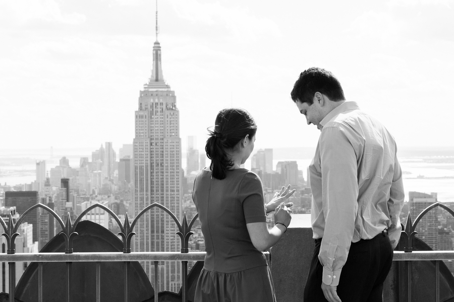 Image 2 of Top of the Rock Marriage Proposal