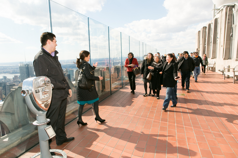 Image 3 of Top of the Rock Marriage Proposal