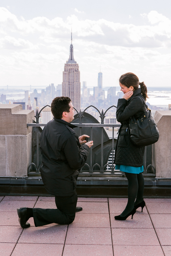 Image 7 of Top of the Rock Marriage Proposal