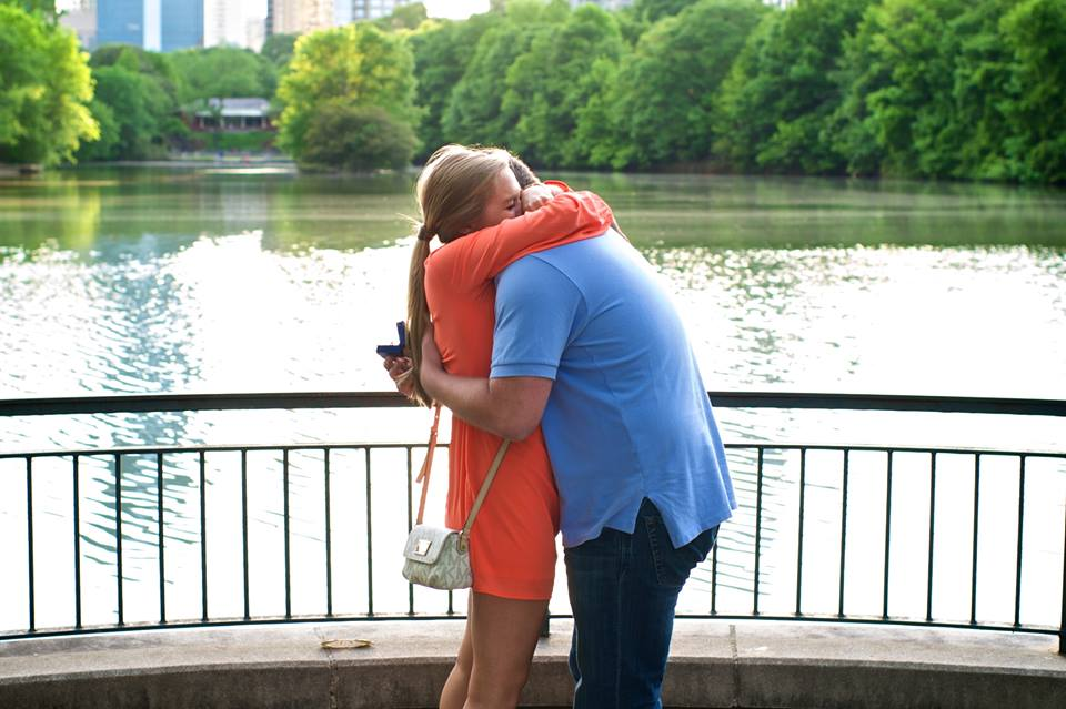 Image 4 of Elizabeth and Nathan | Piedmont Park Proposal in Atlanta