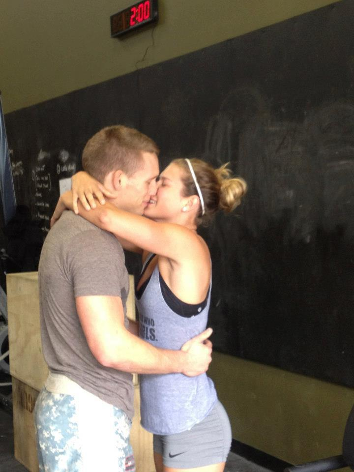 Crossfit Marriage Proposal