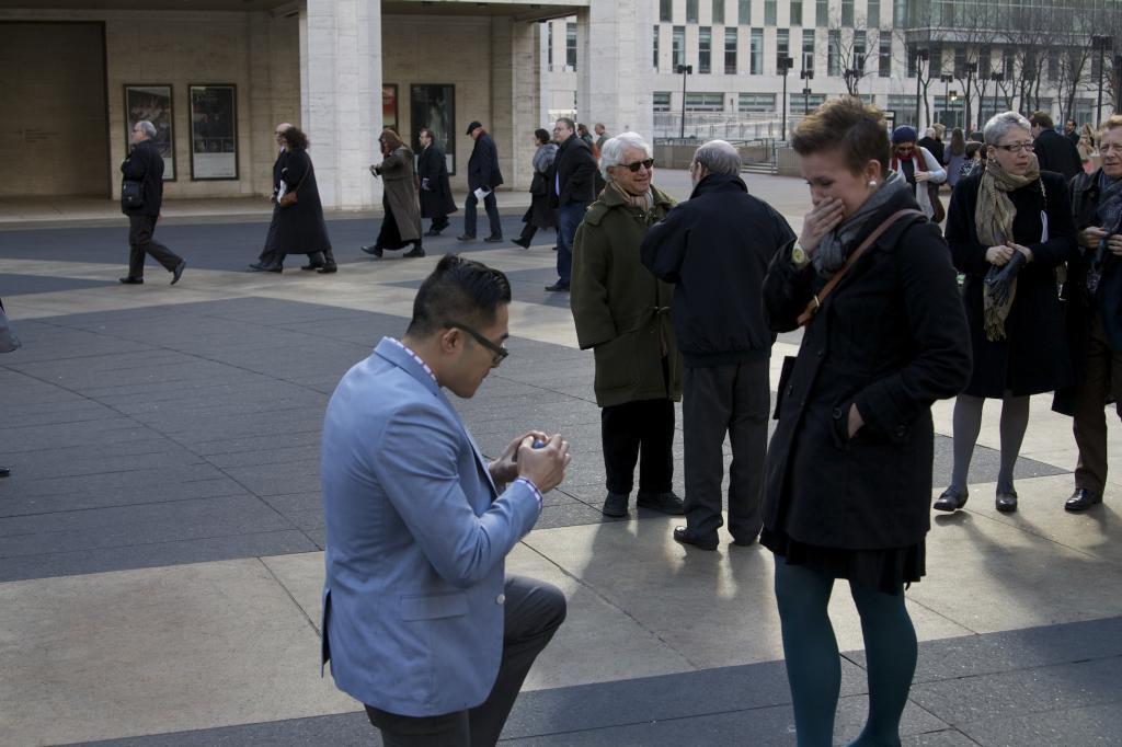 A Proposal At the Opera