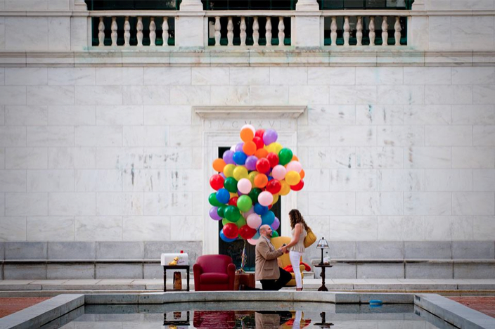 Image 2 of Up-Themed Marriage Proposal