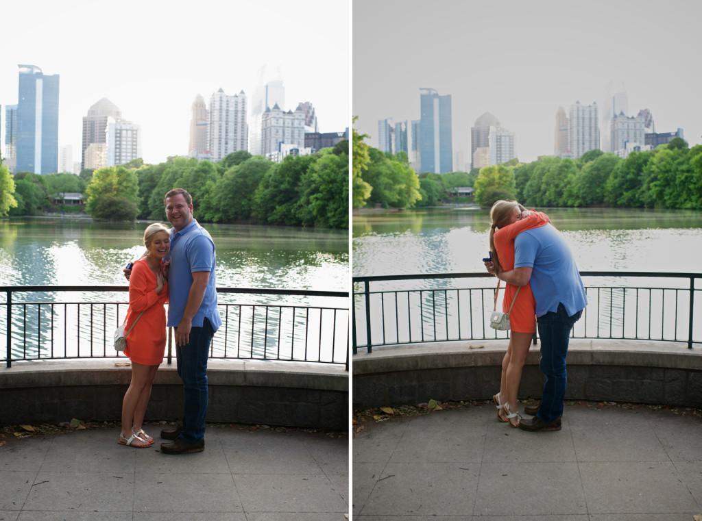 Image 9 of Elizabeth and Nathan | Piedmont Park Proposal in Atlanta