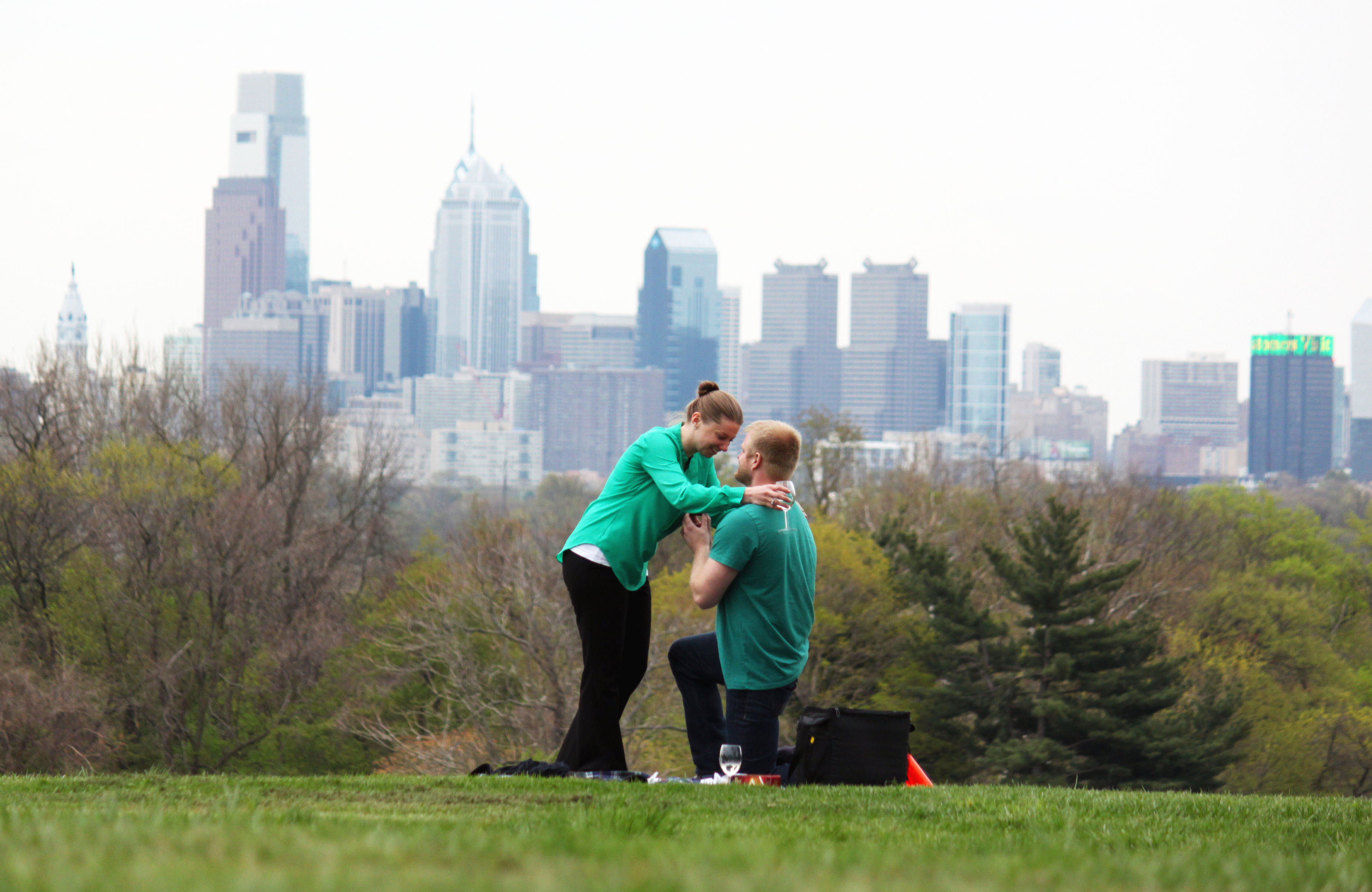 Image 4 of Amy and Tom   Philadelphia Marriage Proposal