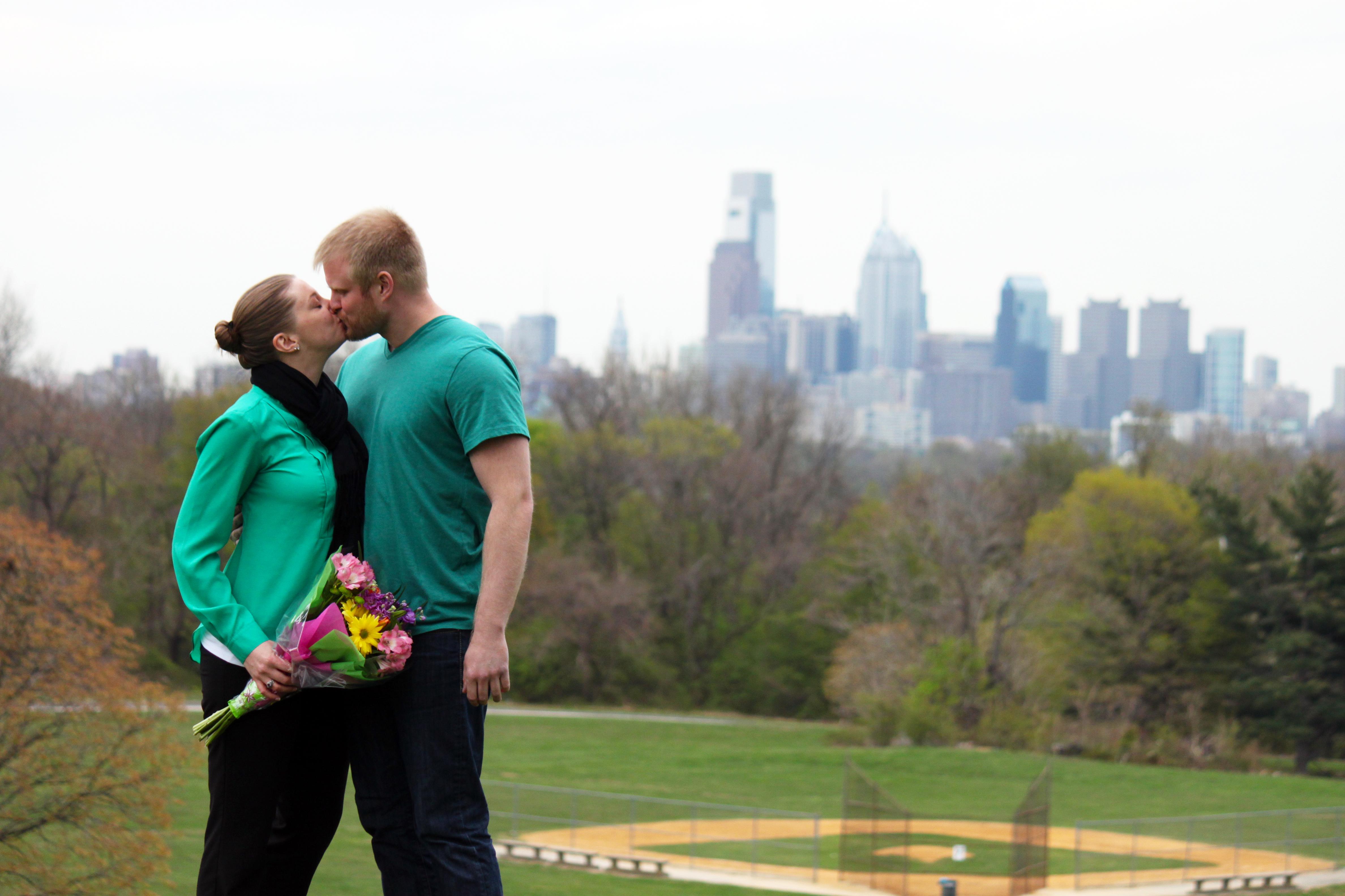 Image 1 of Amy and Tom   Philadelphia Marriage Proposal