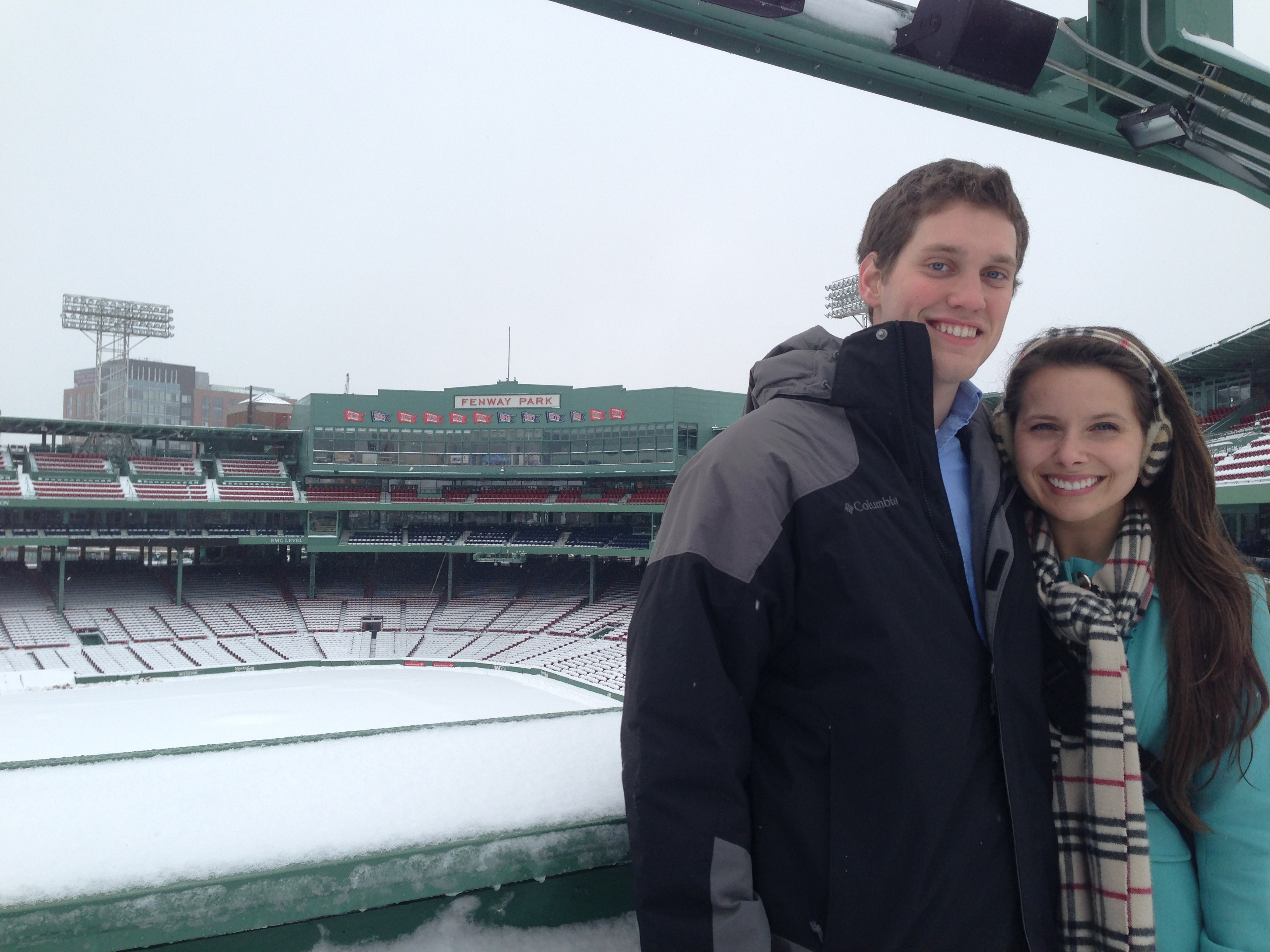 Image 4 of McCall and Brandon's Fenway Park Marriage Proposal