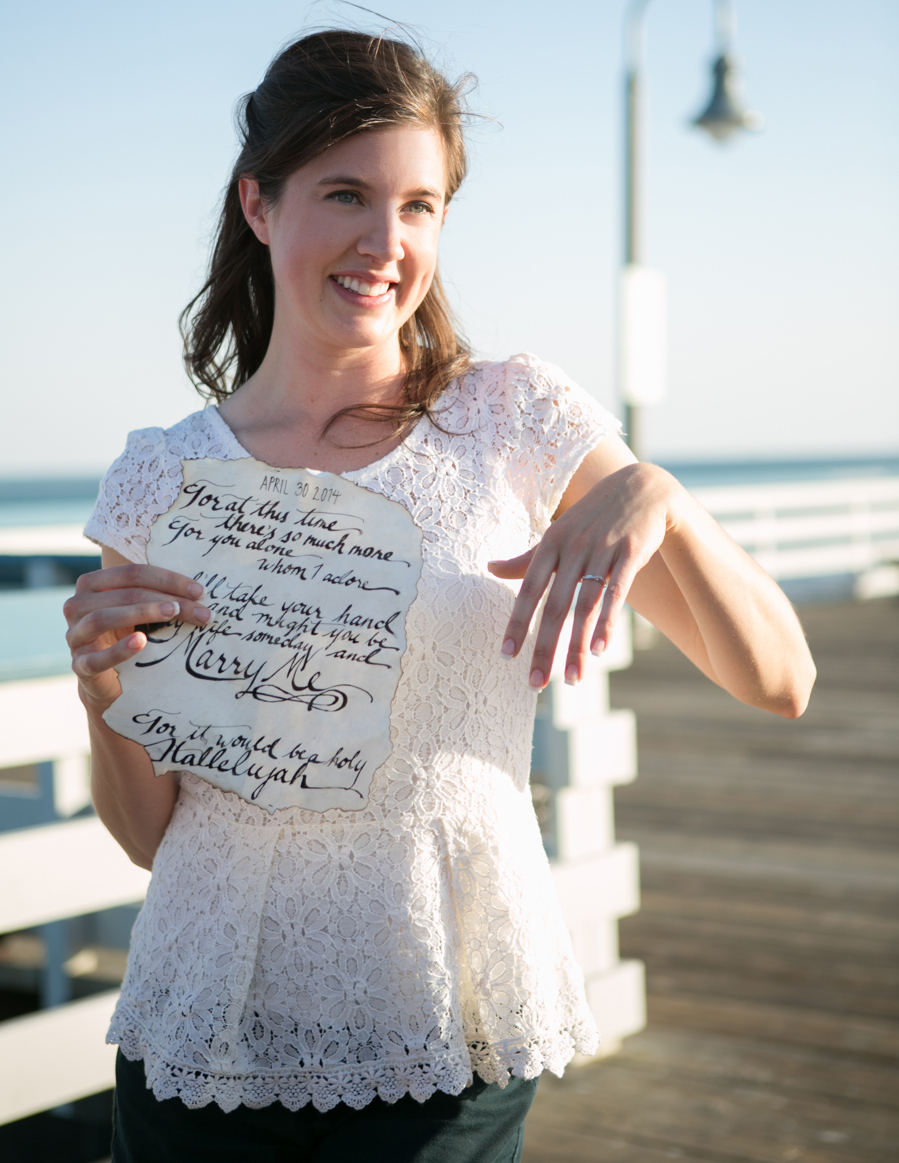 Image 7 of Watch this Message in a Bottle Marriage Proposal