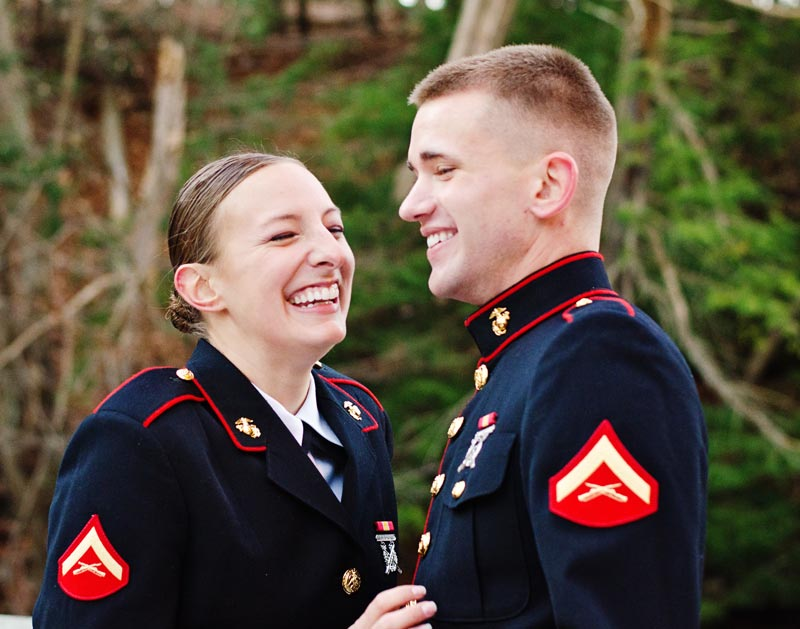 Image 11 of Military Marriage Proposal: Matt and Gina