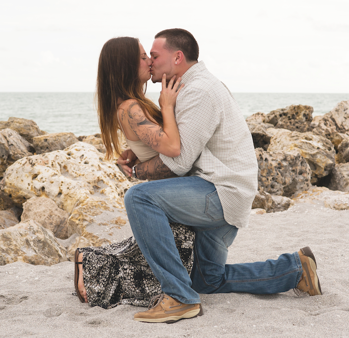Sanibel Island Marriage Proposal 1