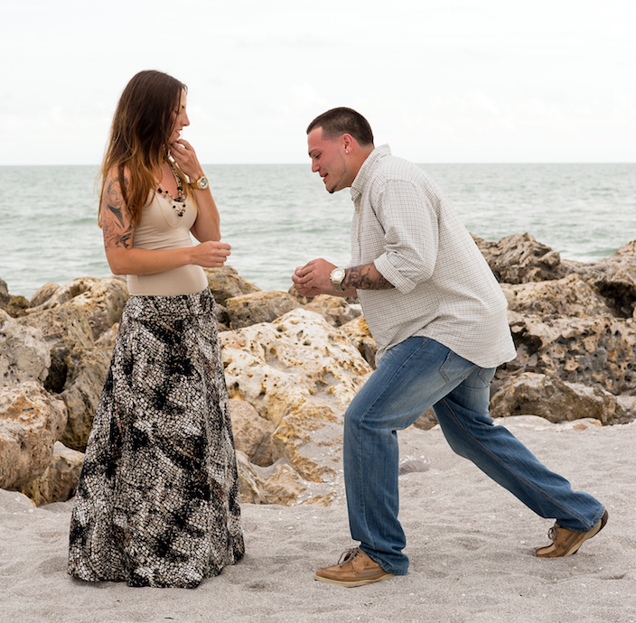 Sanibel Island Marriage Proposal Ideas on the Beach
