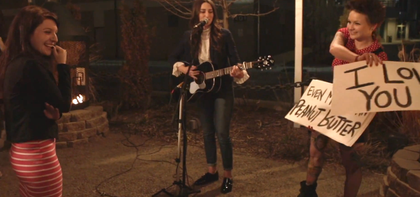 Sara Bareilles Helps with Marriage Proposals