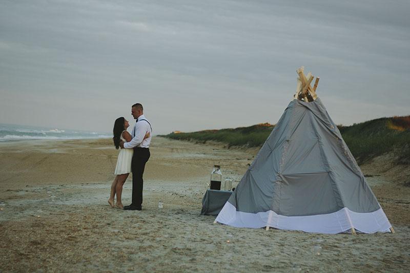 Image 16 of Zak and Lindsey | Florida Beach Proposal