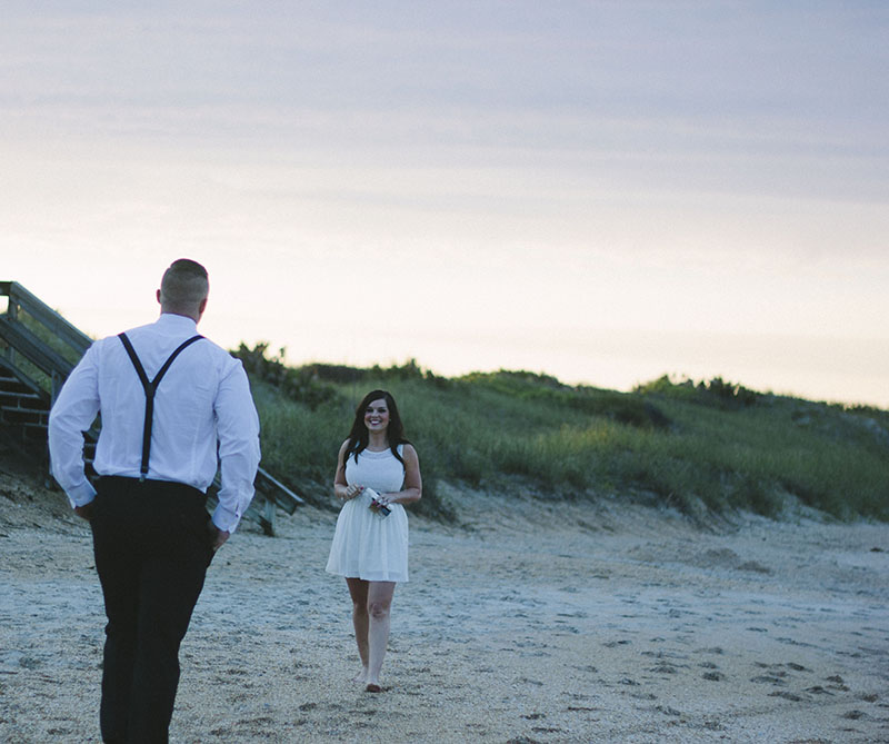 Image 2 of Zak and Lindsey | Florida Beach Proposal