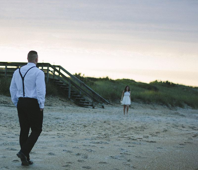 Image 1 of Zak and Lindsey | Florida Beach Proposal