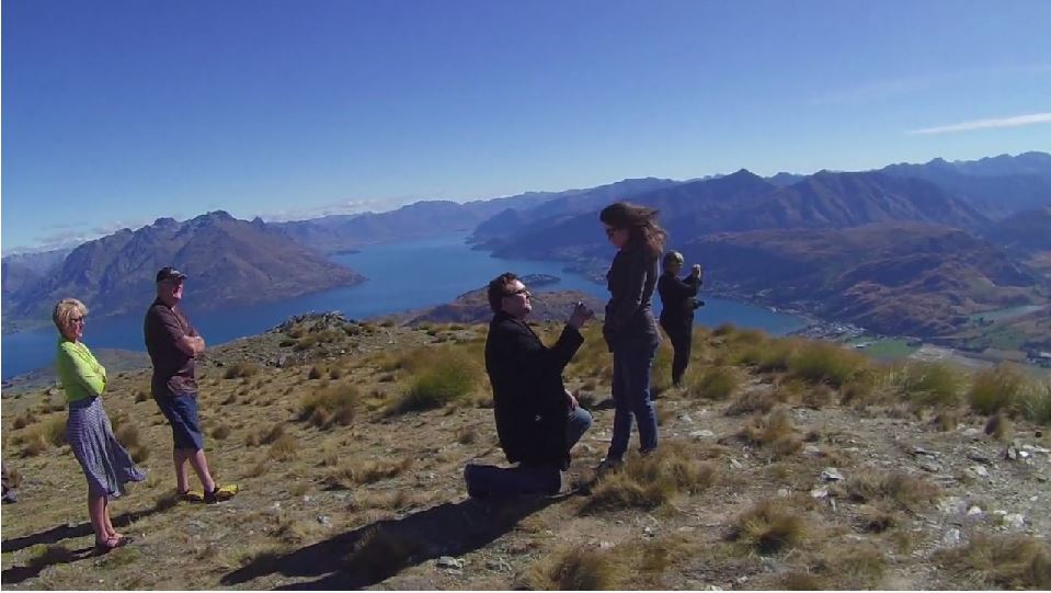 Image 3 of Kristopher & Cassandra | New Zealand Helicopter Proposal
