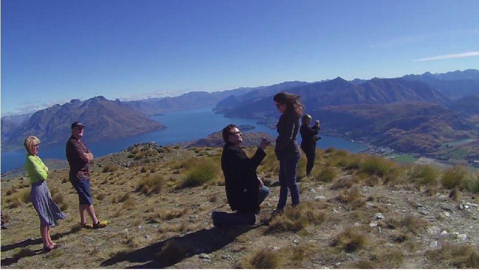 marriage proposal ideas mountaintop proposals 6
