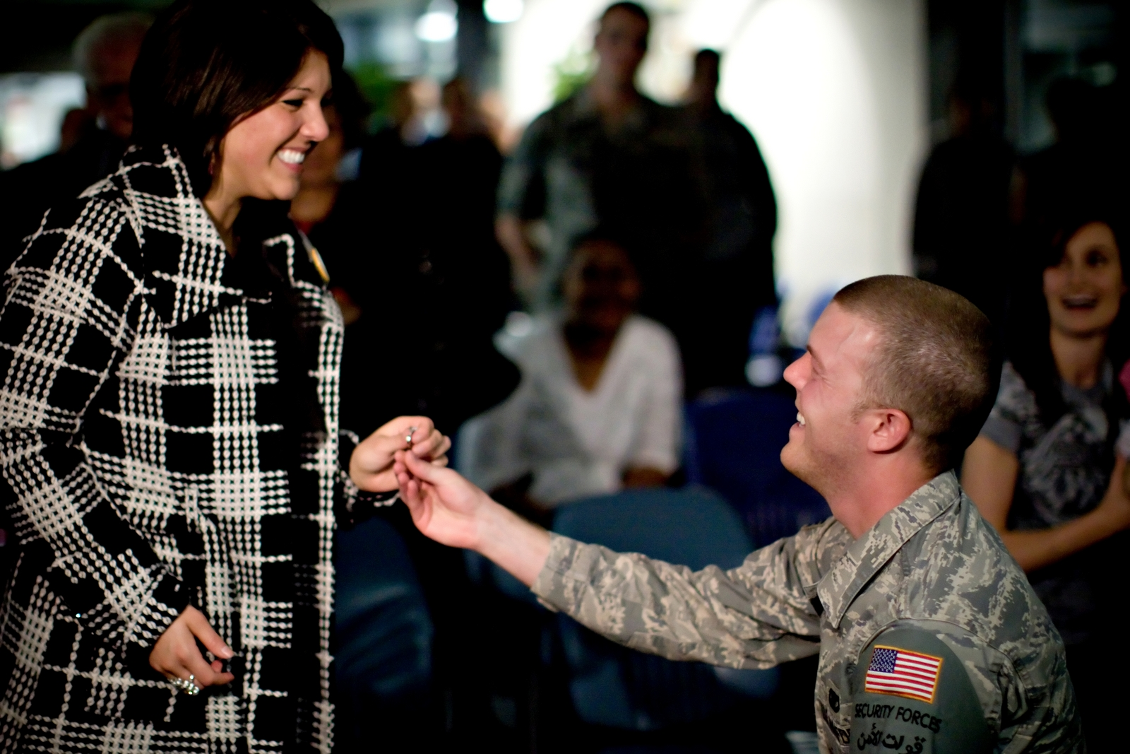 military marriage proposal 3