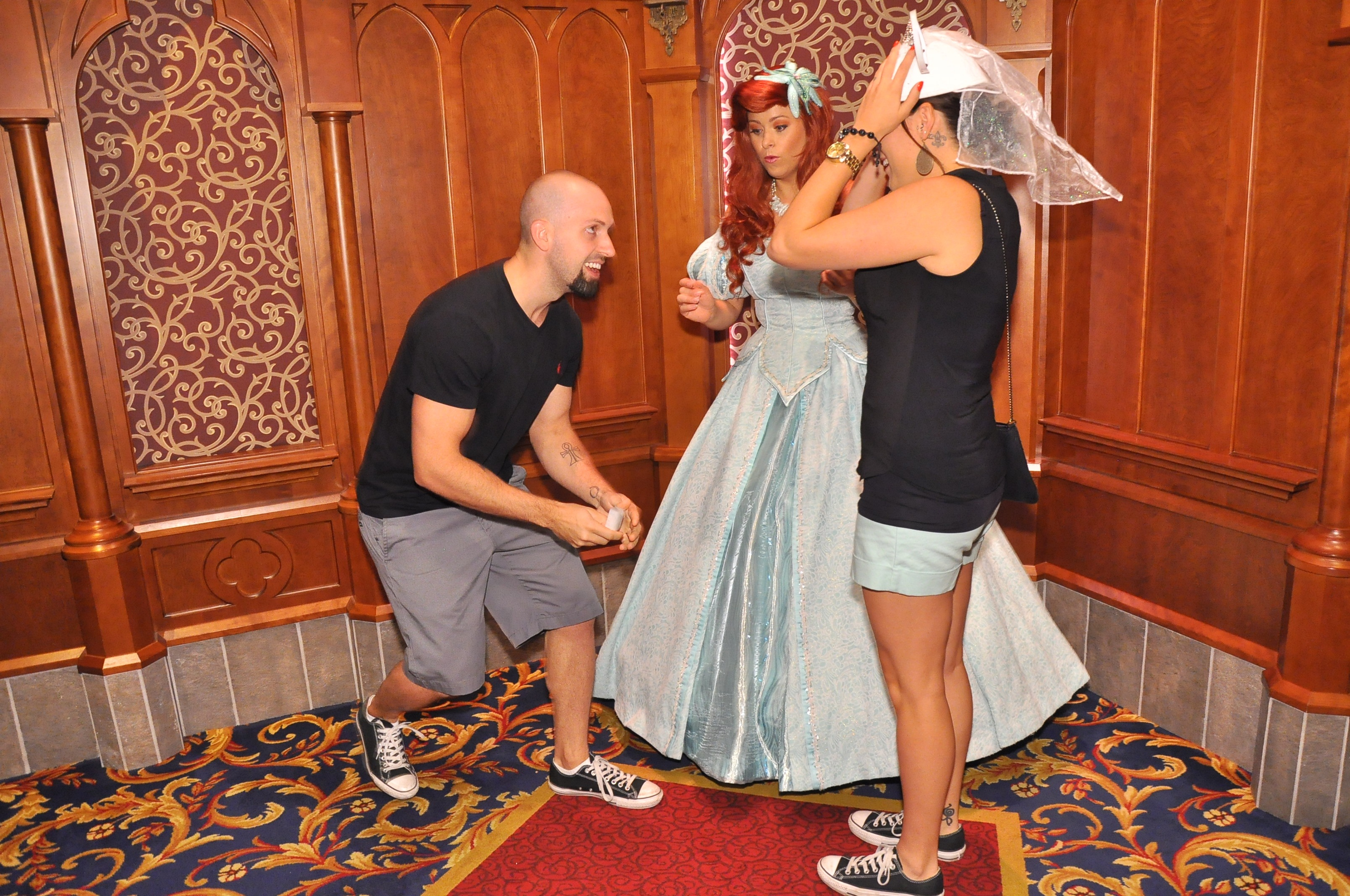 Image 2 of Elizabeth and Tommy's Disneyland Proposal