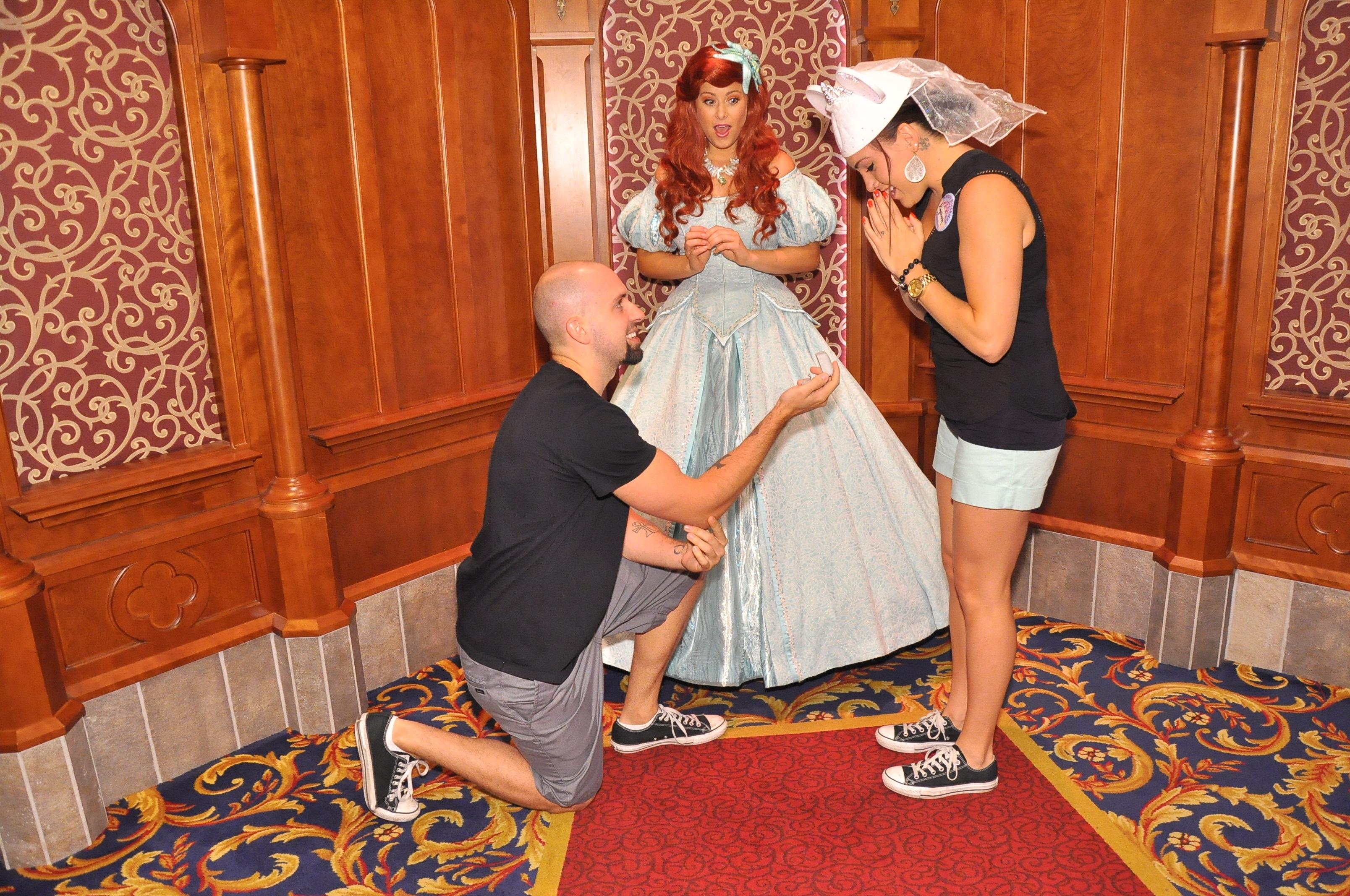 Disneyland Marriage Proposal