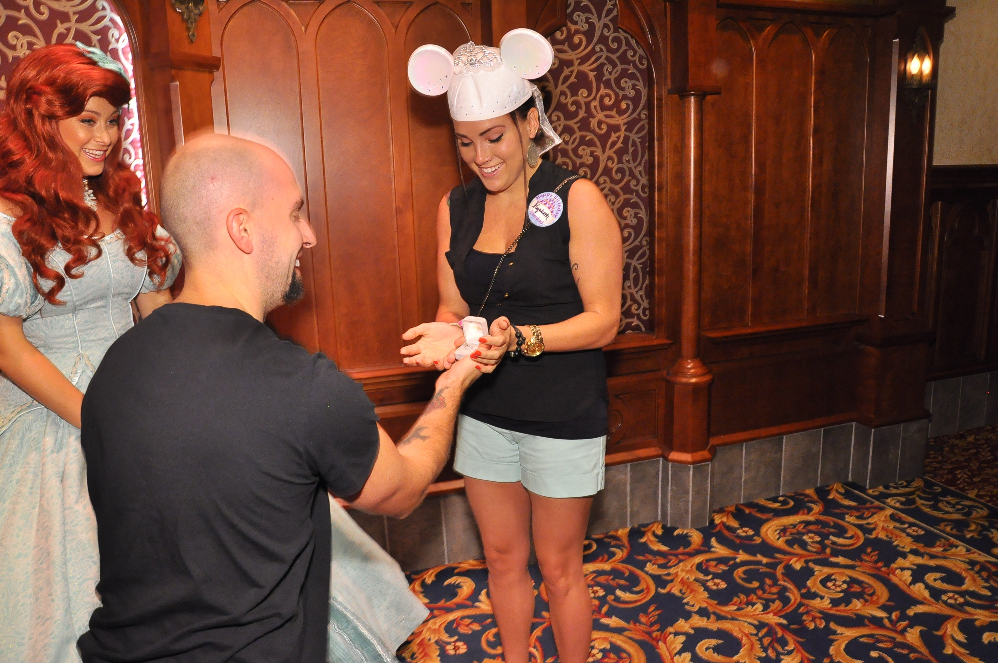 Image 4 of Elizabeth and Tommy's Disneyland Proposal